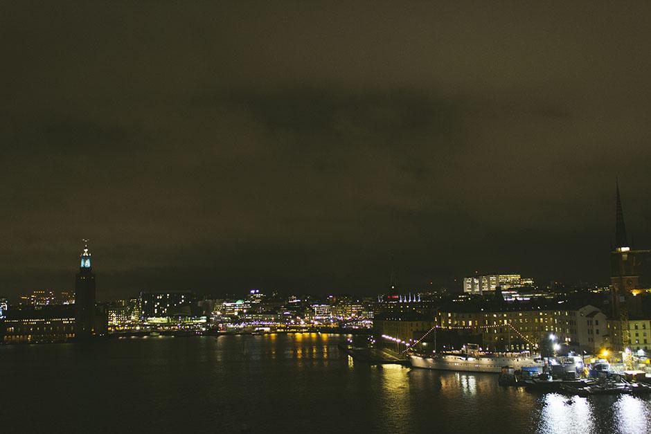 stockholm by night.