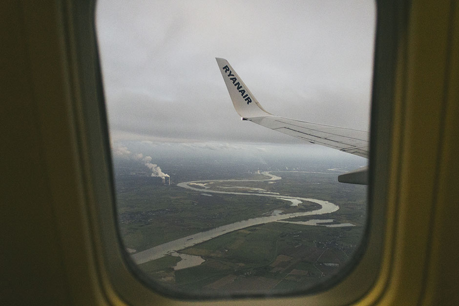 arriving back into germany