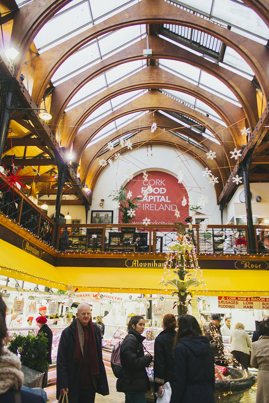 at the english market in cork.