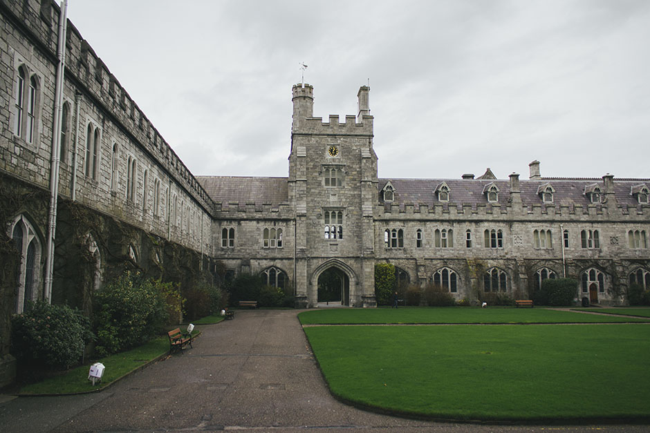UCC - university college cork. this place looked like a castle.