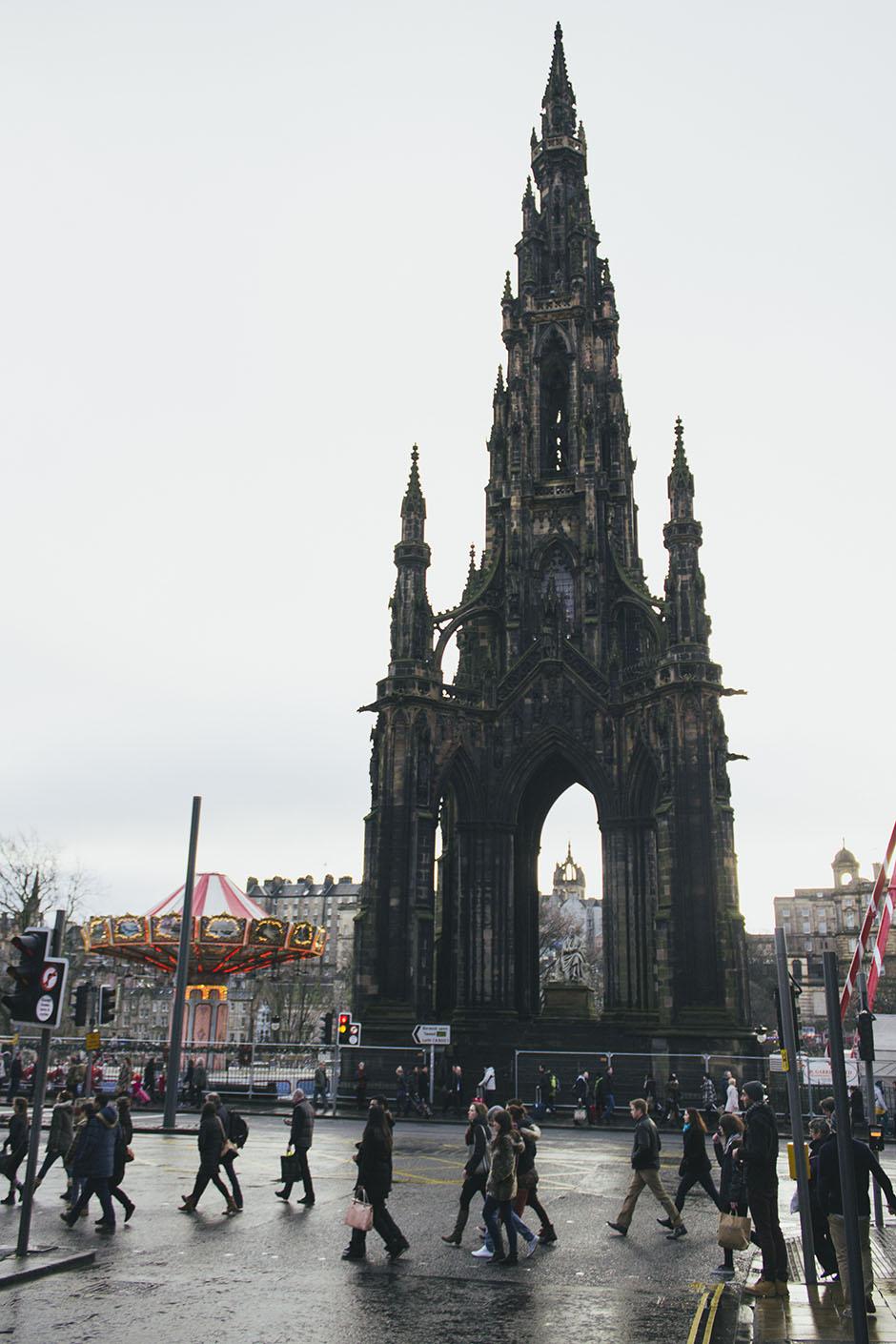 scott's monument.
