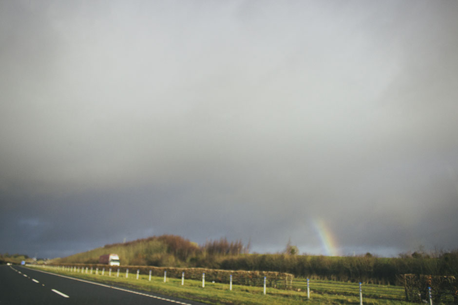 saw many rainbows during my time in ireland, but not a single sign of gold...