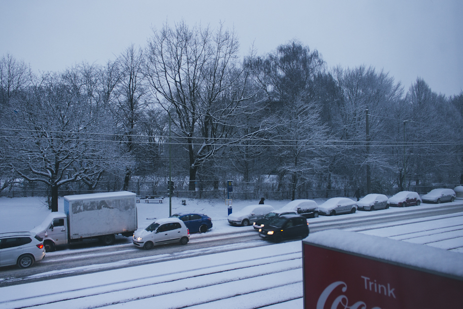 monday morning i pulled back my curtains to find this out my window.
