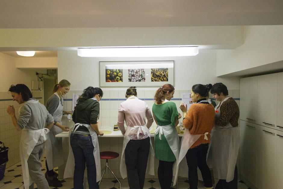 Rachel Walker. International Cooking Evening - Poland. 01