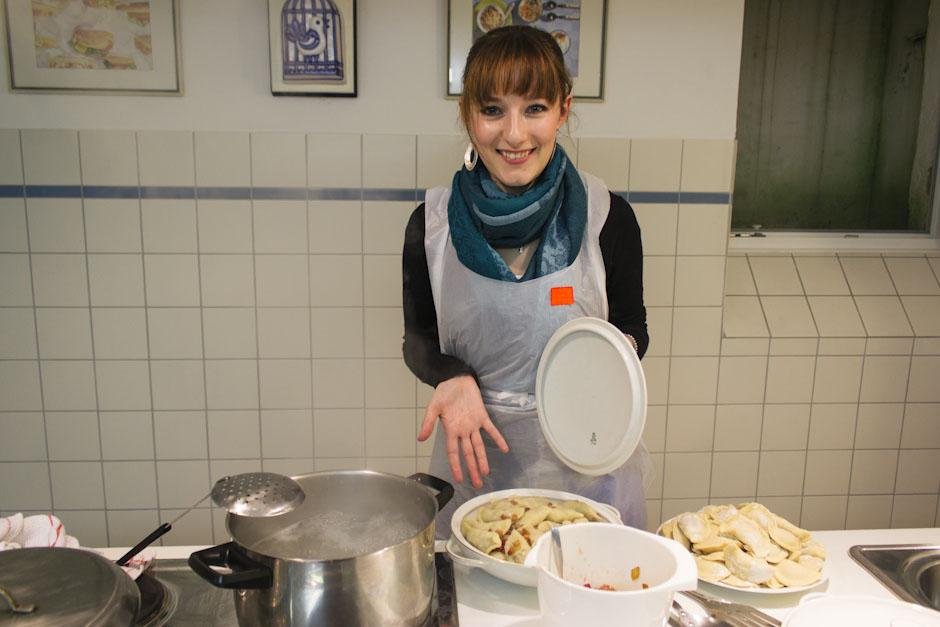 Rachel Walker. International Cooking Evening - Poland. 04