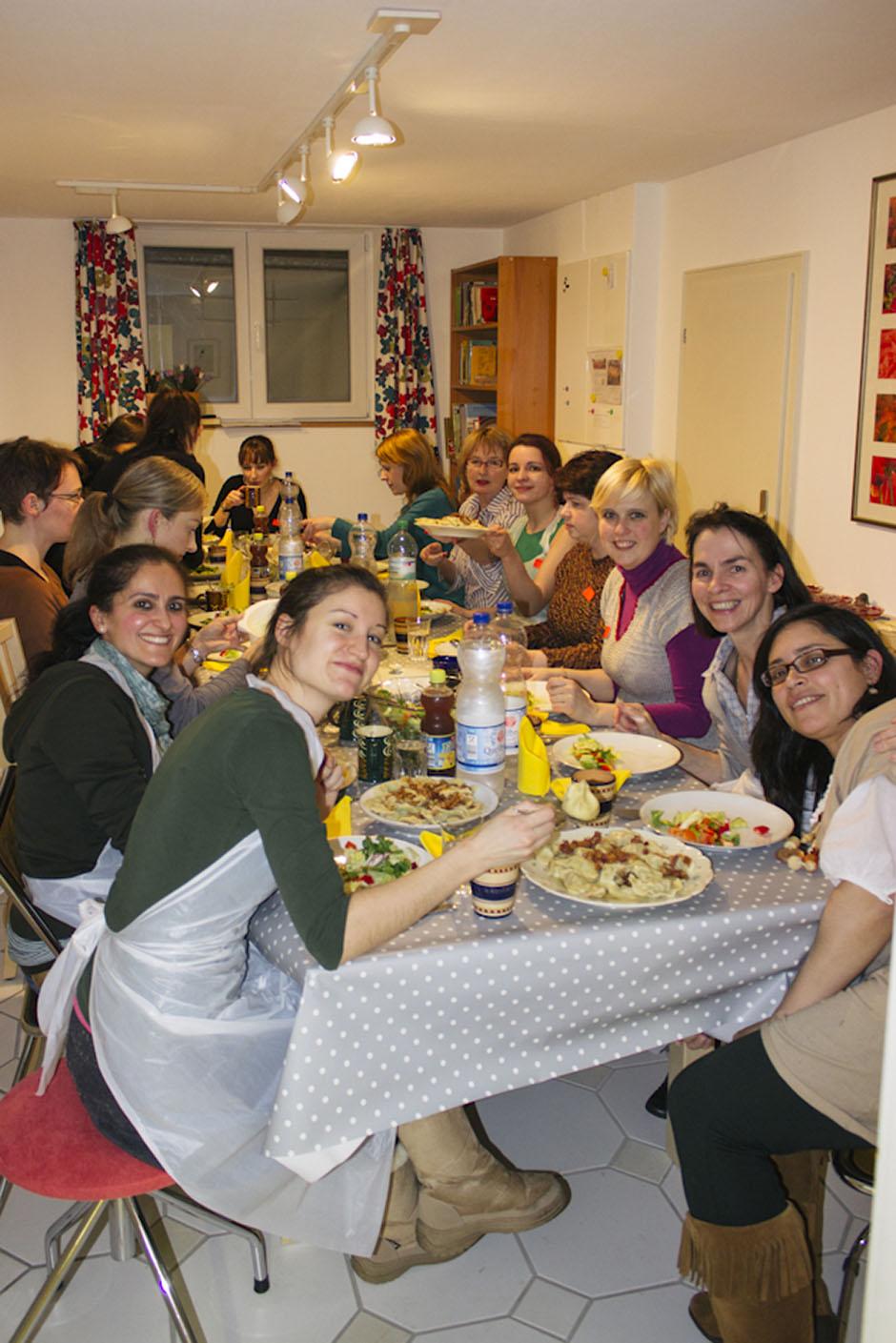 Rachel Walker. International Cooking Evening - Poland. 05