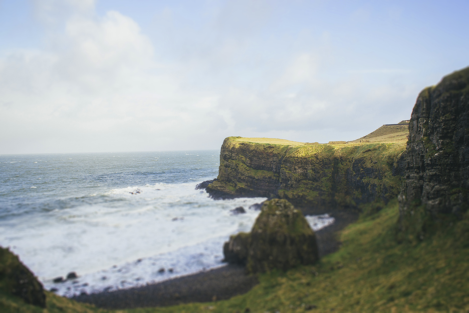 northern ireland cliff, january '13.