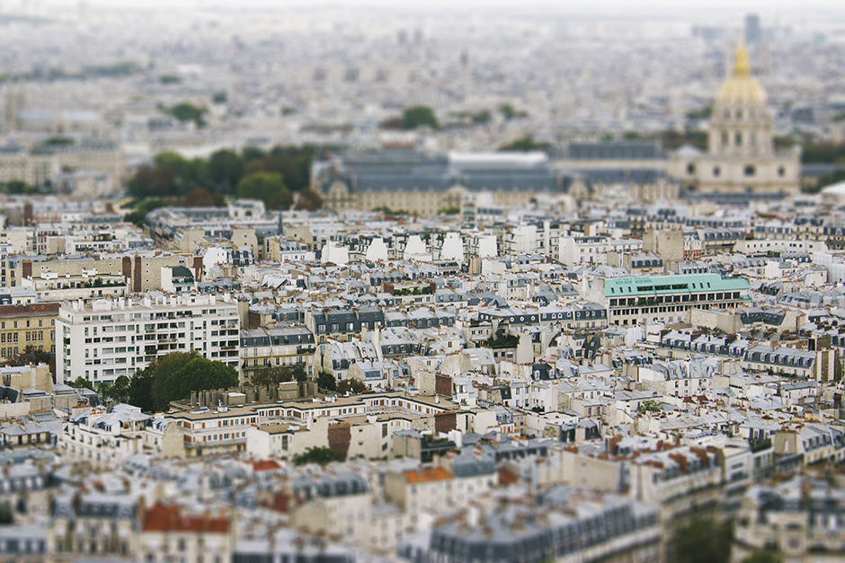 view of paris, september '12.