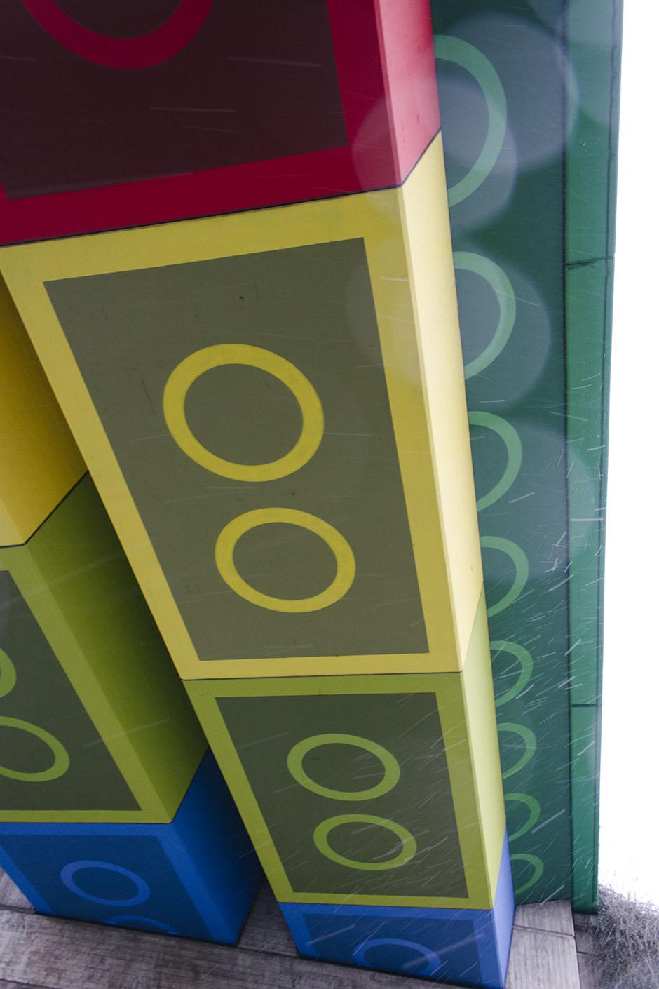 lego bridge in wuppertal.