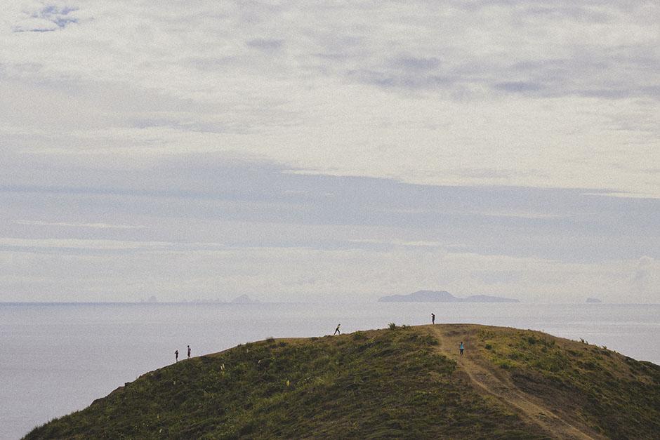 human vs landscape.