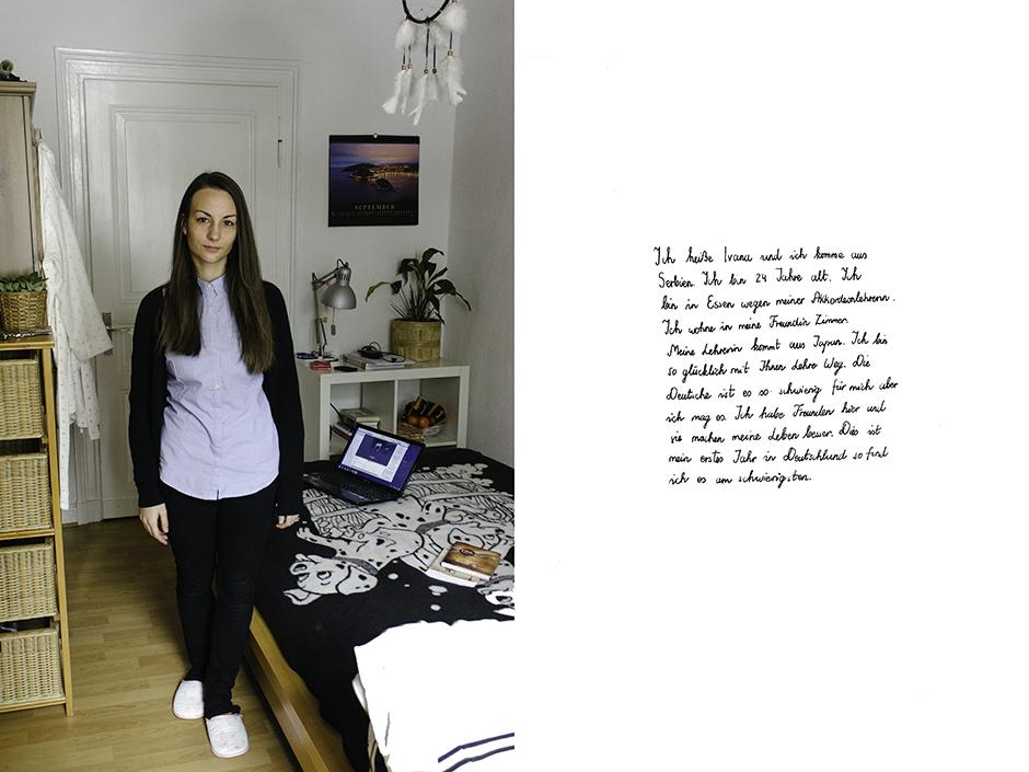 Ivana. Rachel Walker. Porträt Kurs, Germany - 2012