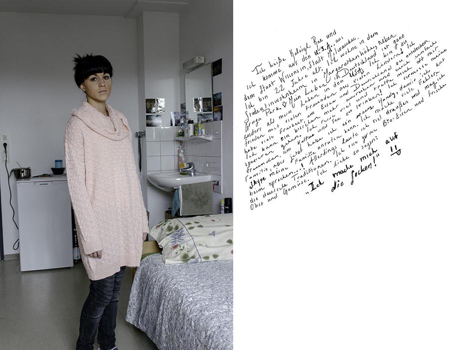 Kaleigh. Rachel Walker. Porträt Kurs, Germany - 2012