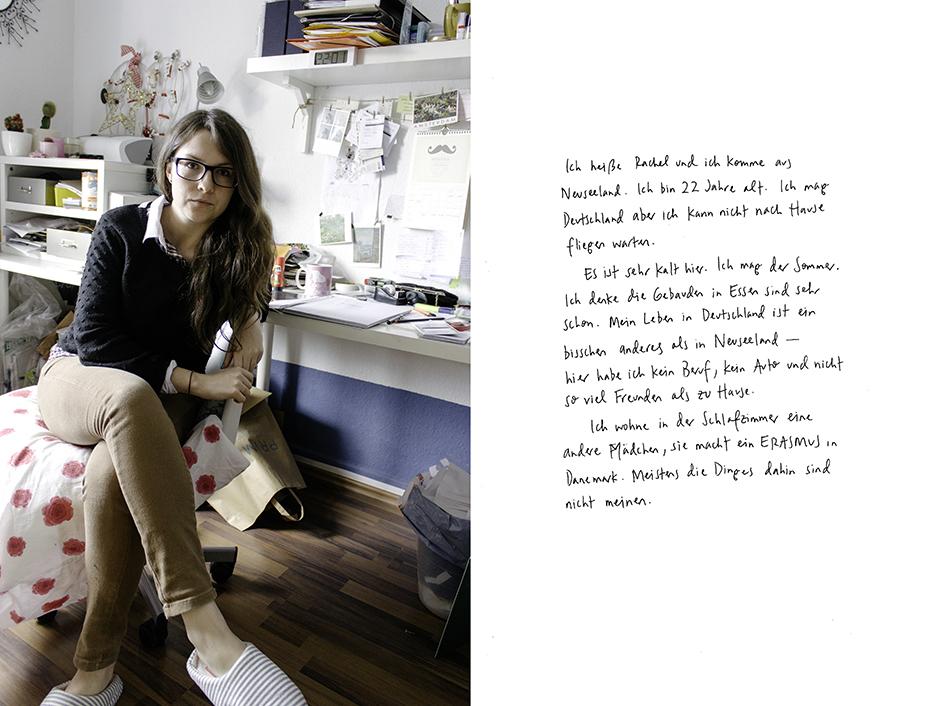 Rachel. Rachel Walker. Porträt Kurs, Germany - 2012
