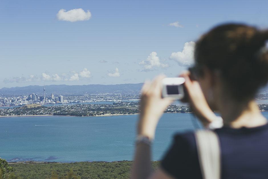 Rachel Walker. Rangitoto Island. Auckland, New Zealand. 15