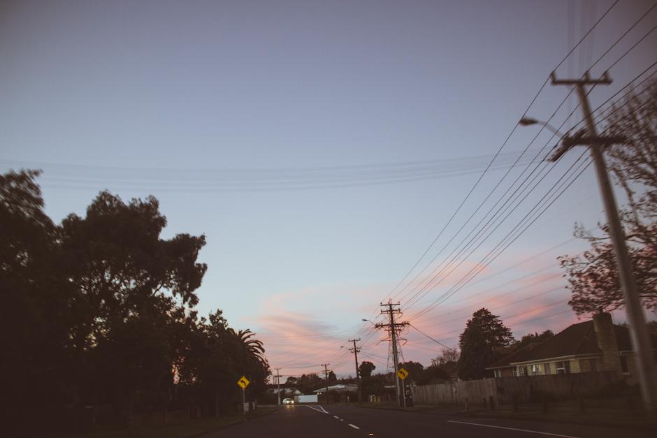 Rachel Walker. Sunset