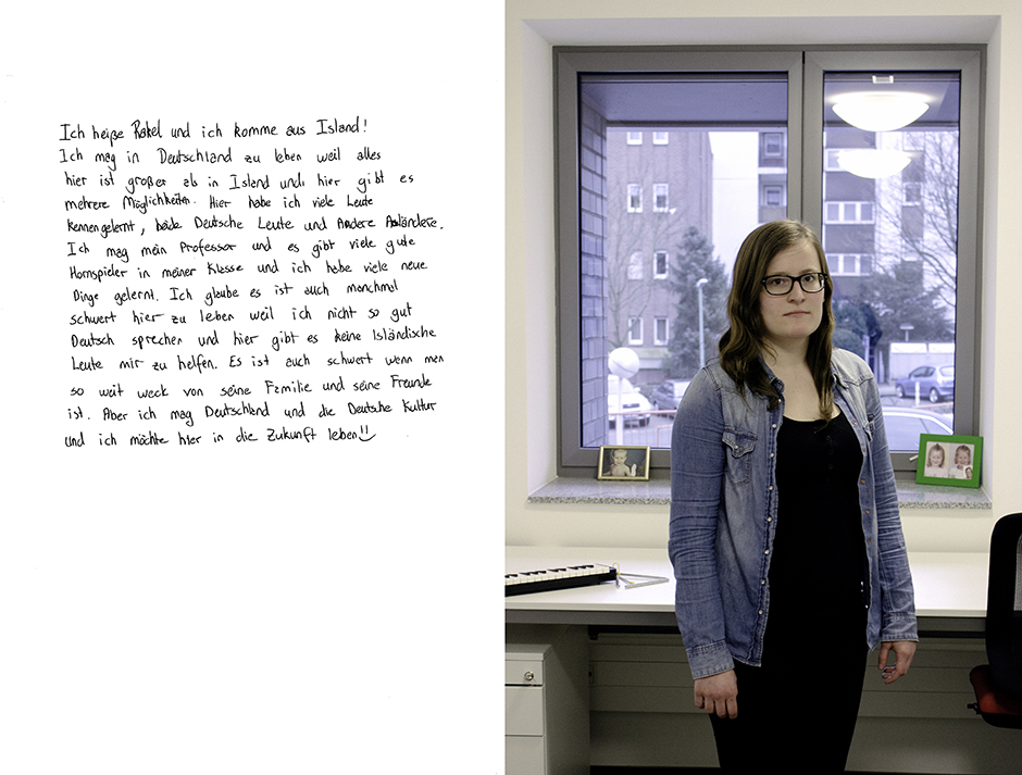 Rakel. Rachel Walker. Porträt Kurs, Germany - 2012