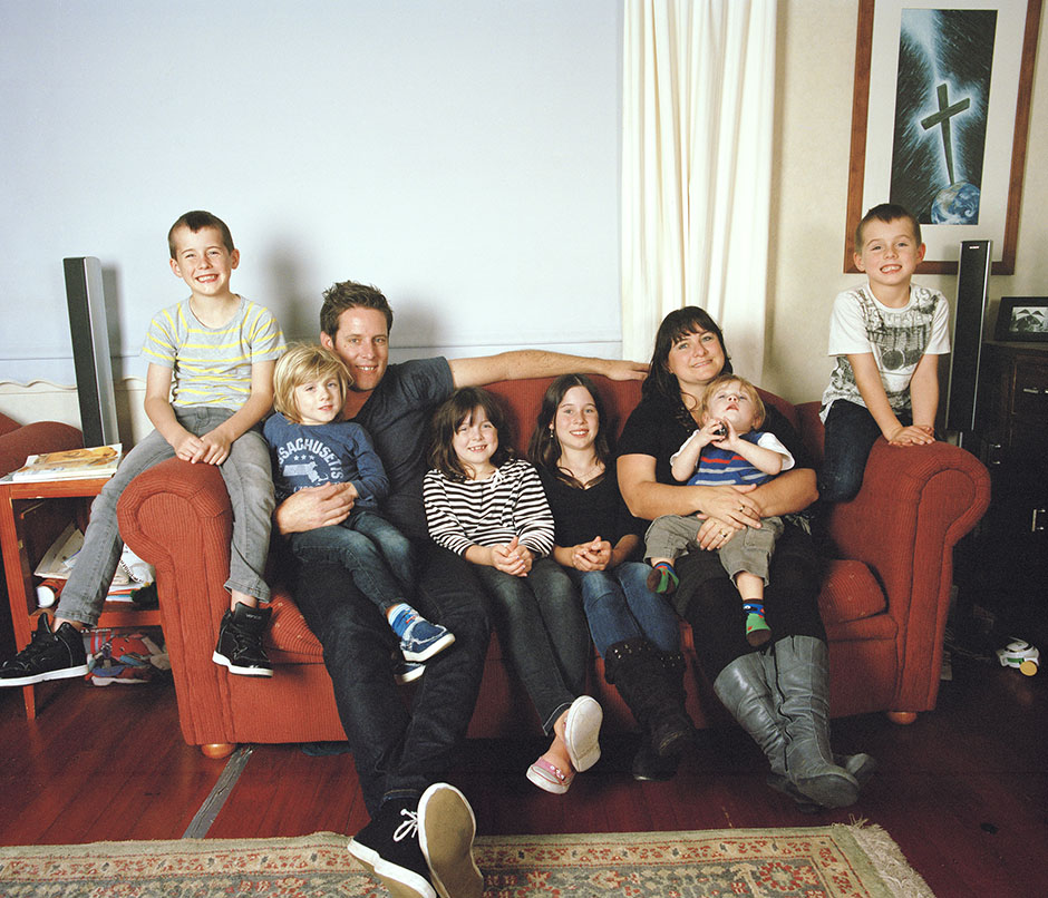 Rachel Walker. big family series. angove