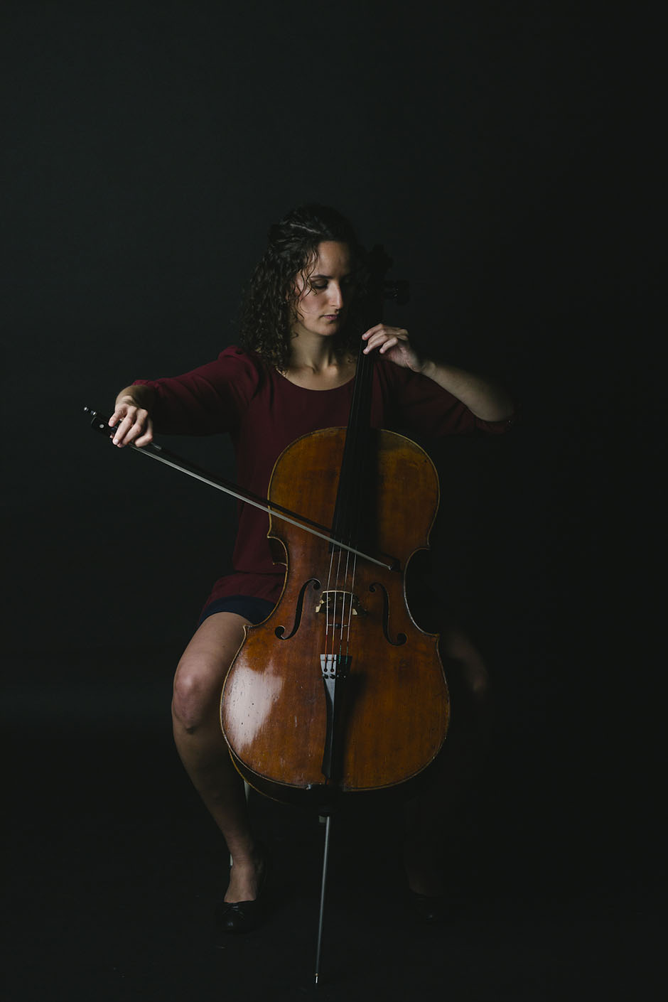 Rachel Walker. Samira Aly - cellist. 05
