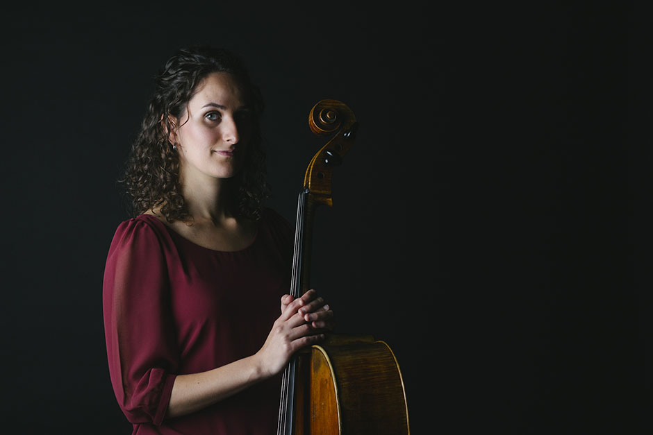 Rachel Walker. Samira Aly - cellist. 08