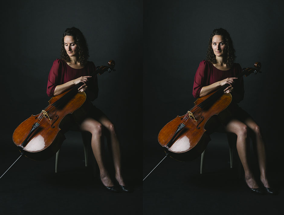 Rachel Walker. Samira Aly - cellist. 09