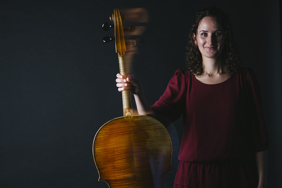 Rachel Walker. Samira Aly - cellist. 13