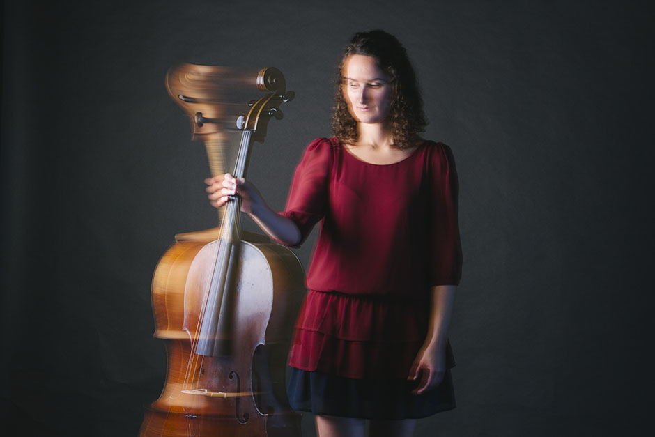 Rachel Walker. Samira Aly - cellist. 15