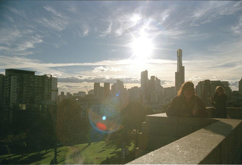 Rachel Walker. Melbourne 16