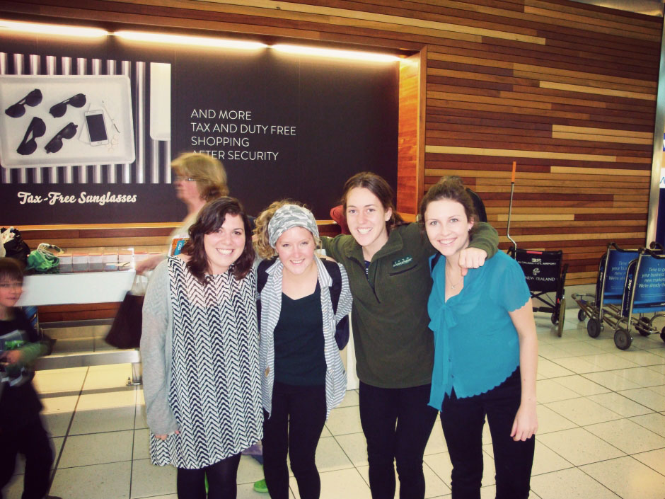 Rachel Walker. Anna-Ruth's Last Day in New Zealand. 12
