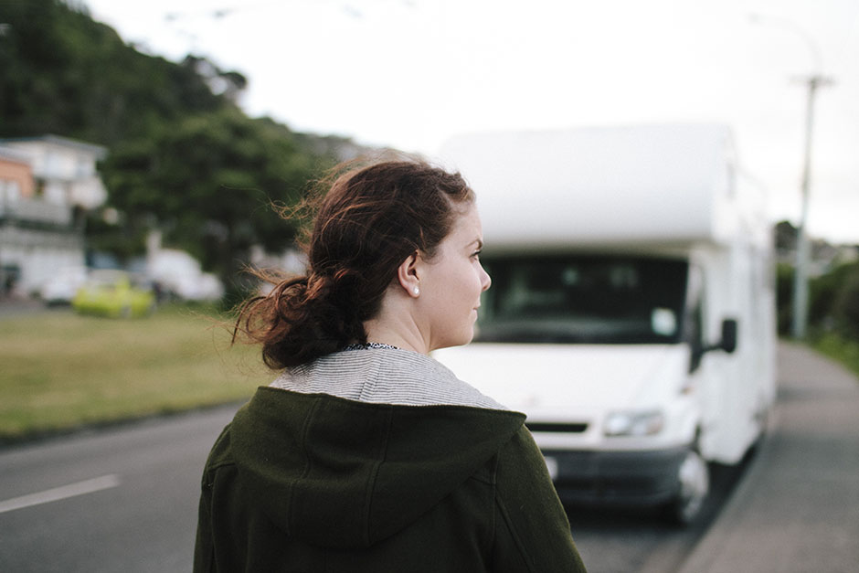 Rachel Walker. Location Scouting. Wellington, New Zealand. 15
