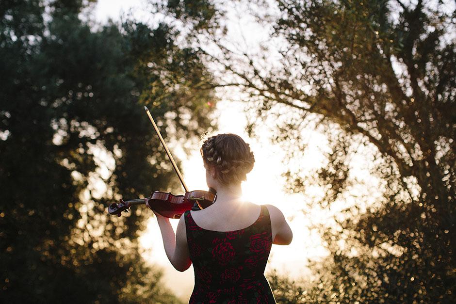 Rachel Walker. Olivia Francis, Violinist. Auckland, New Zealand.03