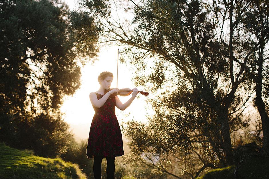 Rachel Walker. Olivia Francis, Violinist. Auckland, New Zealand.05