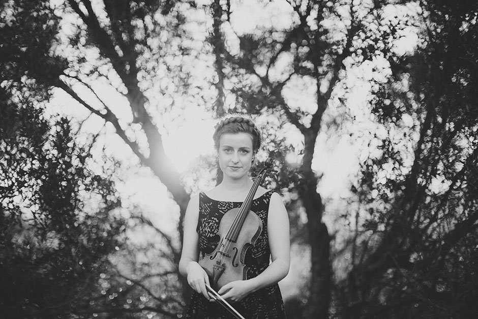 Rachel Walker. Olivia Francis, Violinist. Auckland, New Zealand.06