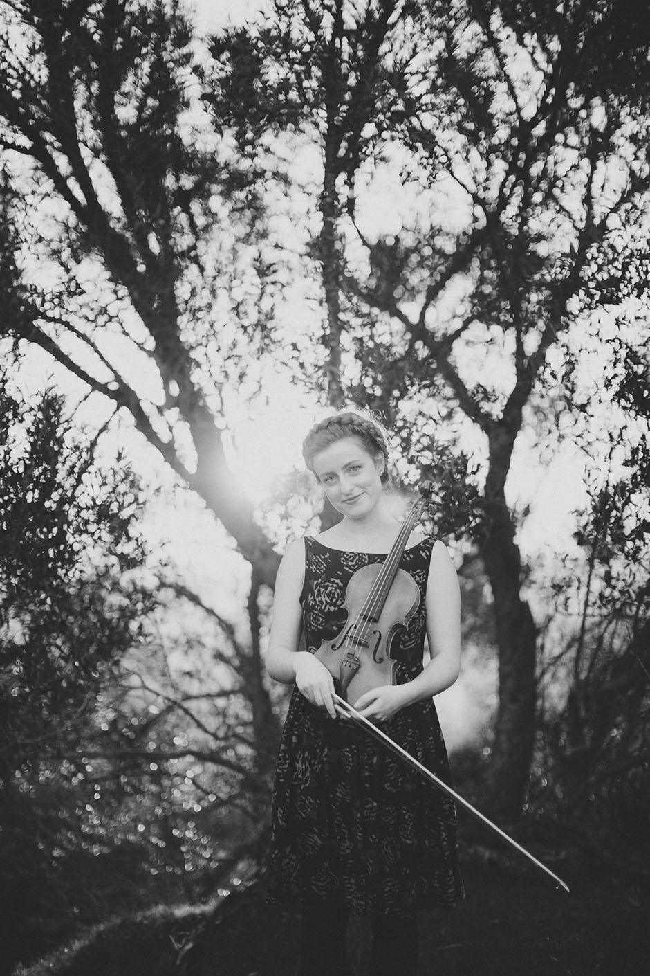 Rachel Walker. Olivia Francis, Violinist. Auckland, New Zealand.08