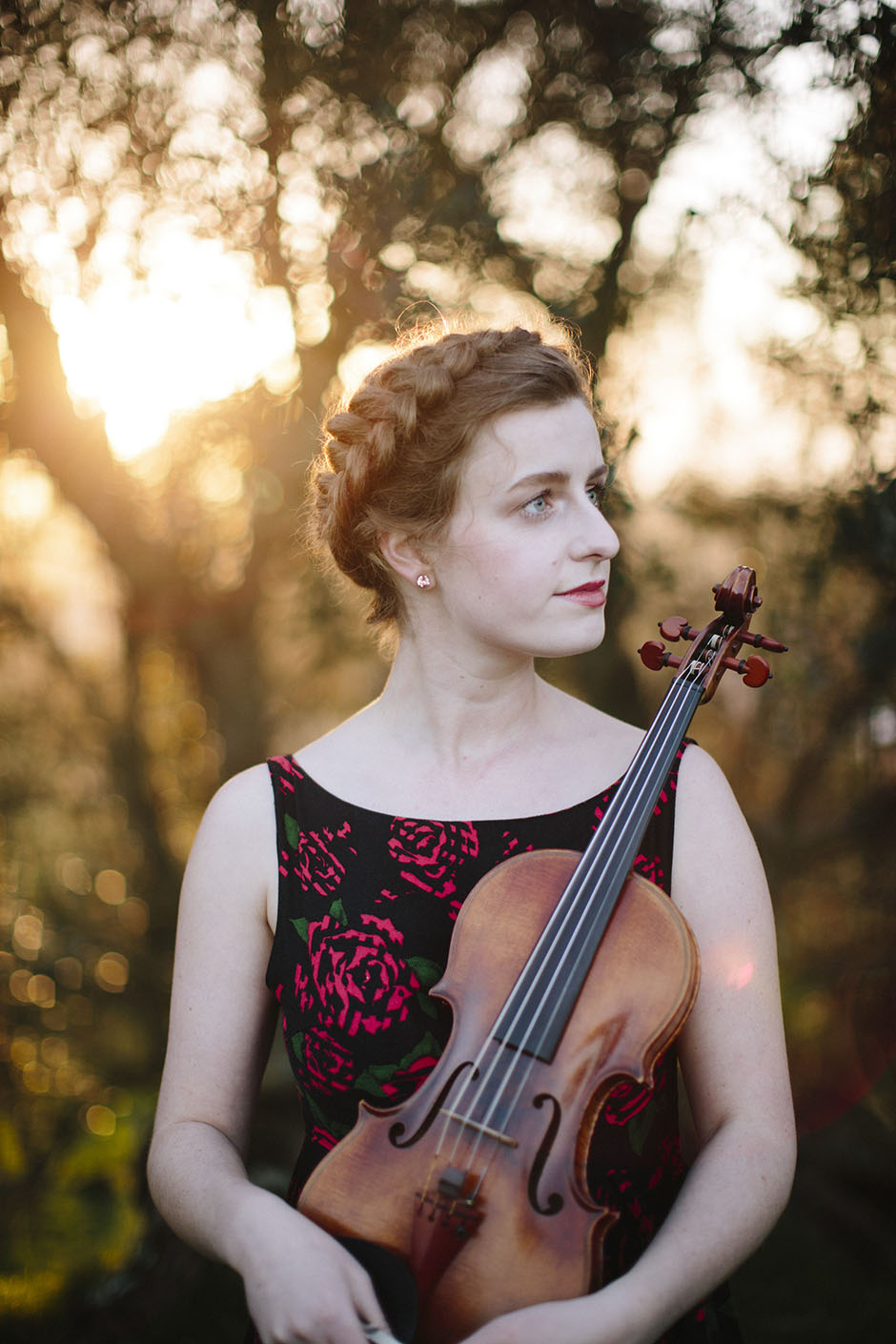 Rachel Walker. Olivia Francis, Violinist. Auckland, New Zealand.10
