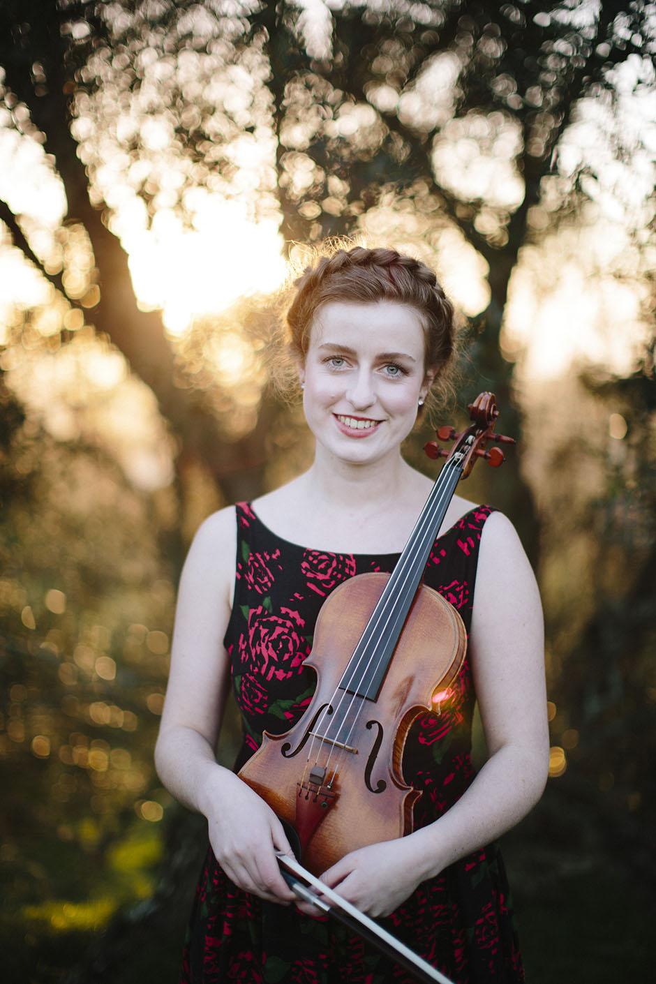 Rachel Walker. Olivia Francis, Violinist. Auckland, New Zealand.12