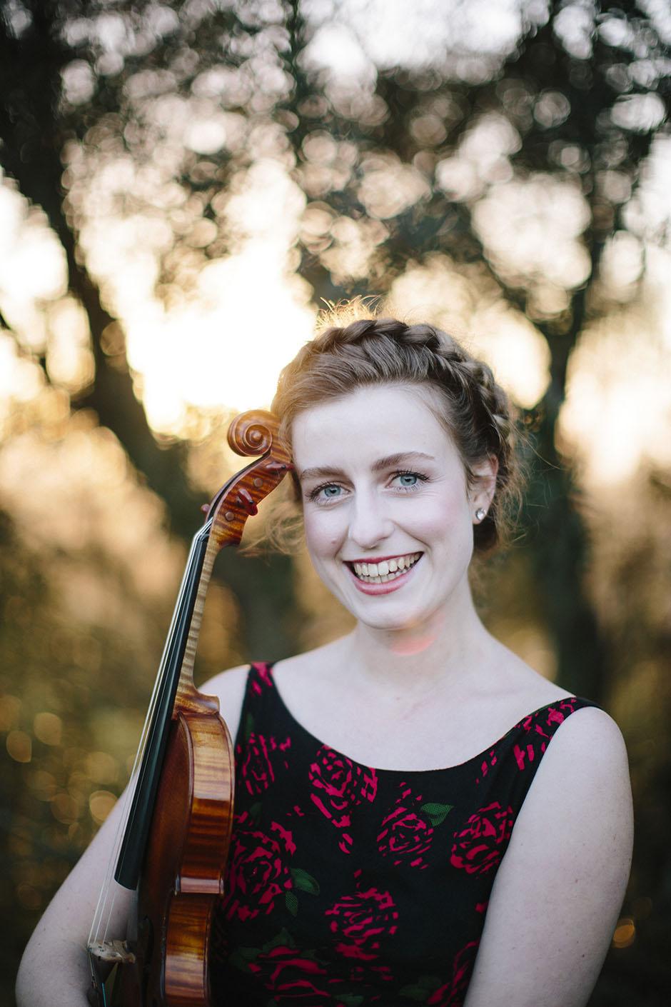 Rachel Walker. Olivia Francis, Violinist. Auckland, New Zealand.14