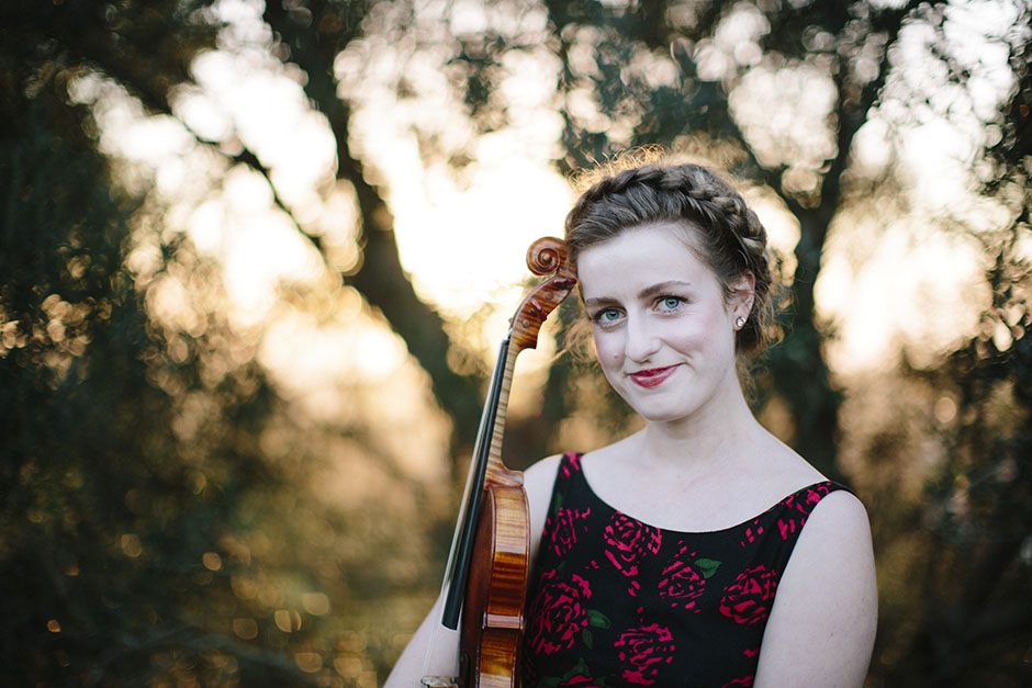 Rachel Walker. Olivia Francis, Violinist. Auckland, New Zealand.16