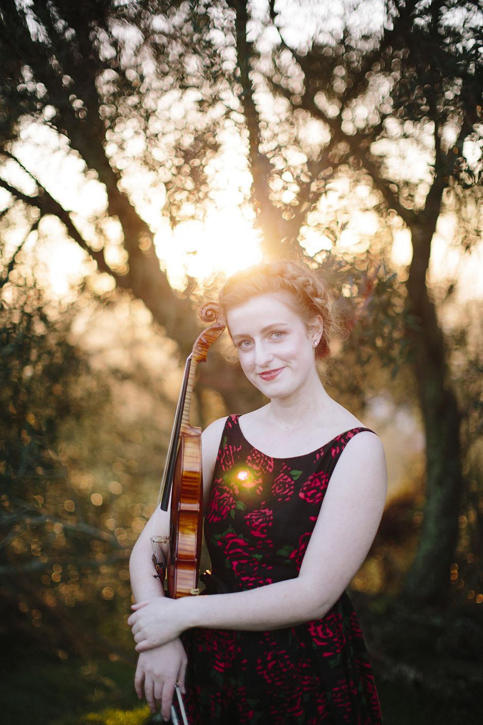 Rachel Walker. Olivia Francis, Violinist. Auckland, New Zealand.18