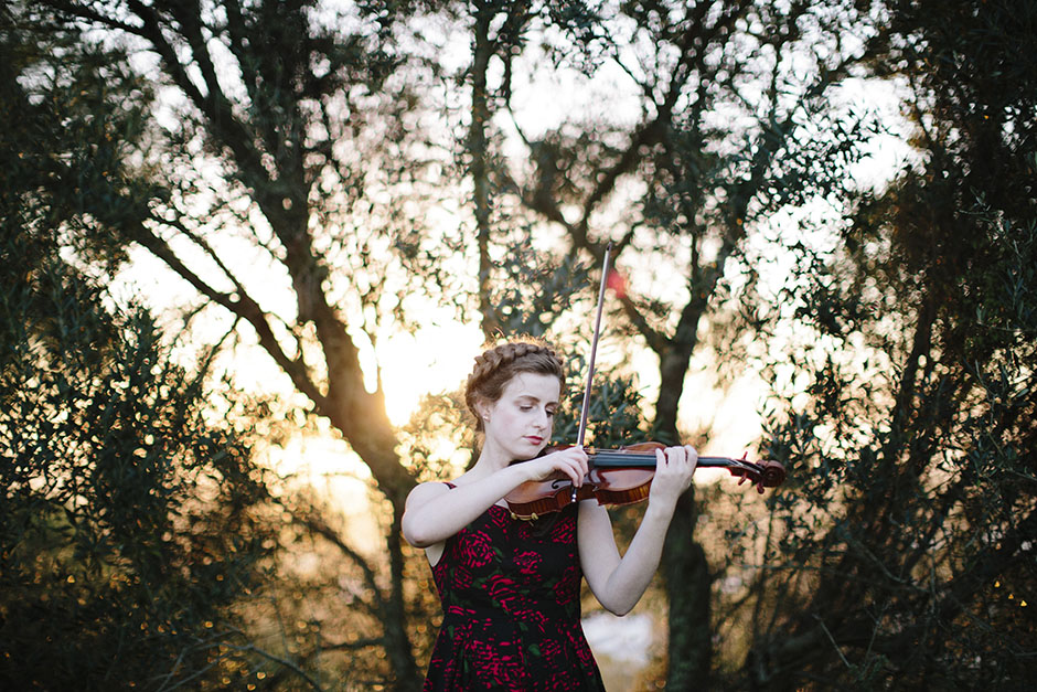 Rachel Walker. Olivia Francis, Violinist. Auckland, New Zealand.19
