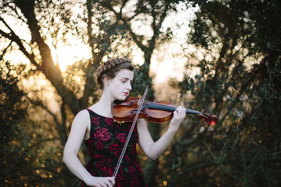 Rachel Walker. Olivia Francis, Violinist. Auckland, New Zealand.20